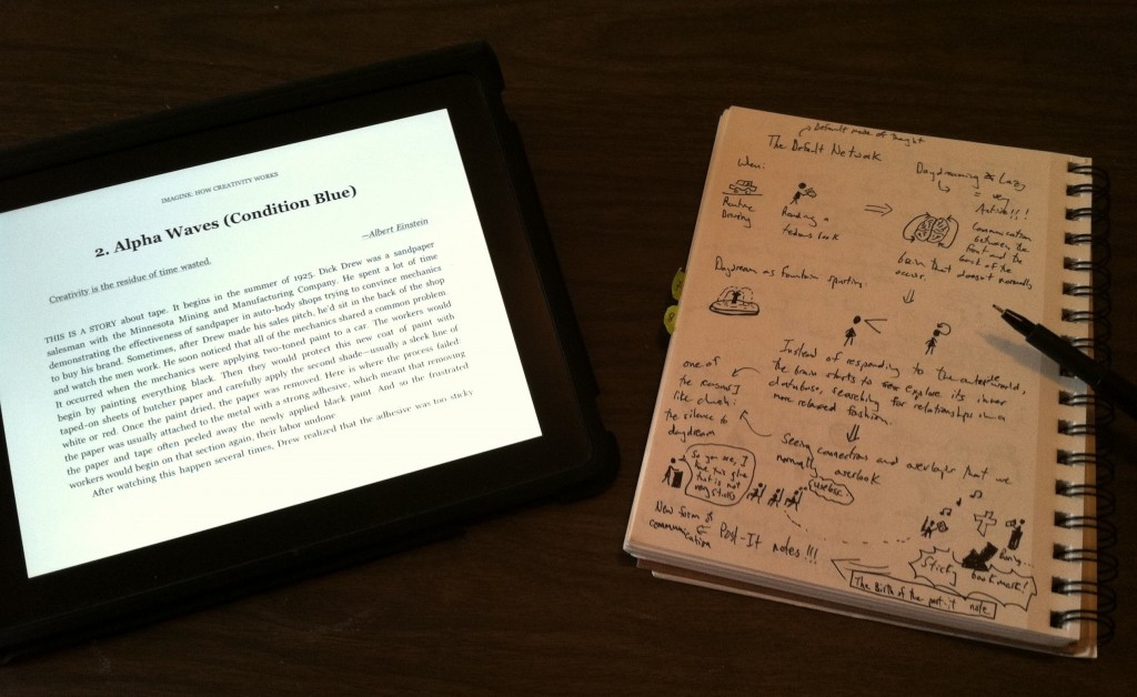 The Graphic Recording - From Text to Sketchnotes: A How-To Guide for Novice Visual Note Takers - Reading and Rough Sketching