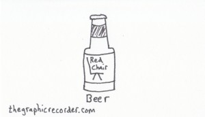 The Graphic Recorder - Visual Vocabulary - Delicious Drinks - Beer