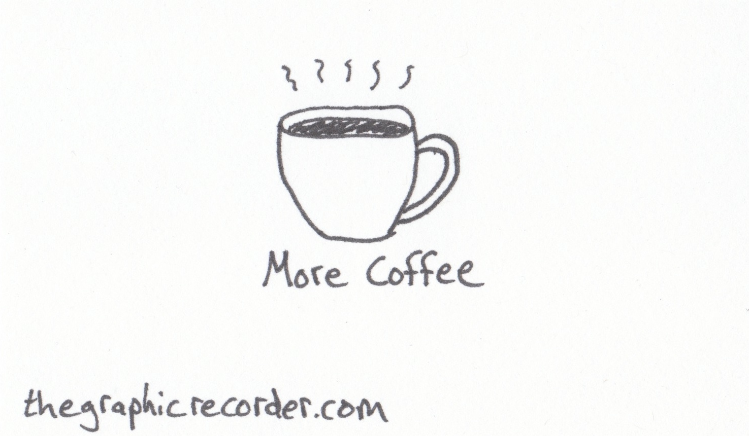 The Graphic Recorder - Visual Vocabulary - Delicious Drinks - More Coffee