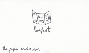 The Graphic Recorder - Visual Vocabulary - Things to Read - Pamphlet