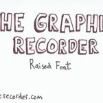 The Graphic Recorder - Visual Vocabulary - Title Fonts - Raised Font