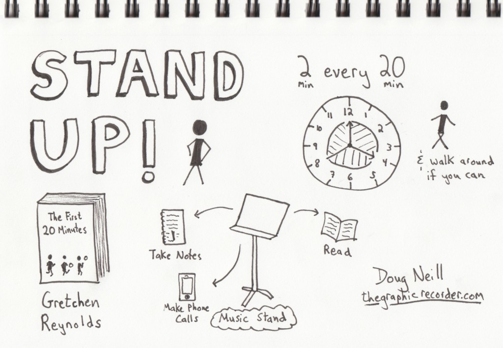 The Graphic Recorder - Doug Neill - Stand Up - Fresh Air - Gretchen Reynolds - The First 20 Minutes