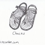 The Graphic Recorder - Visual Vocabulary - Footwear - Chacos