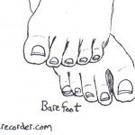 The Graphic Recorder - Visual Vocabulary - Footware - Barefoot