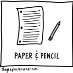 The Graphic Recorder - Visual Vocabulary - Math Toolbox - Pencil and Paper