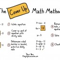 The Cover Up Math Method
