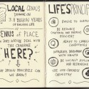 Sketchnotes of Biomimicry Oregon's Genius of Place Workshop on Stormwater Systems
