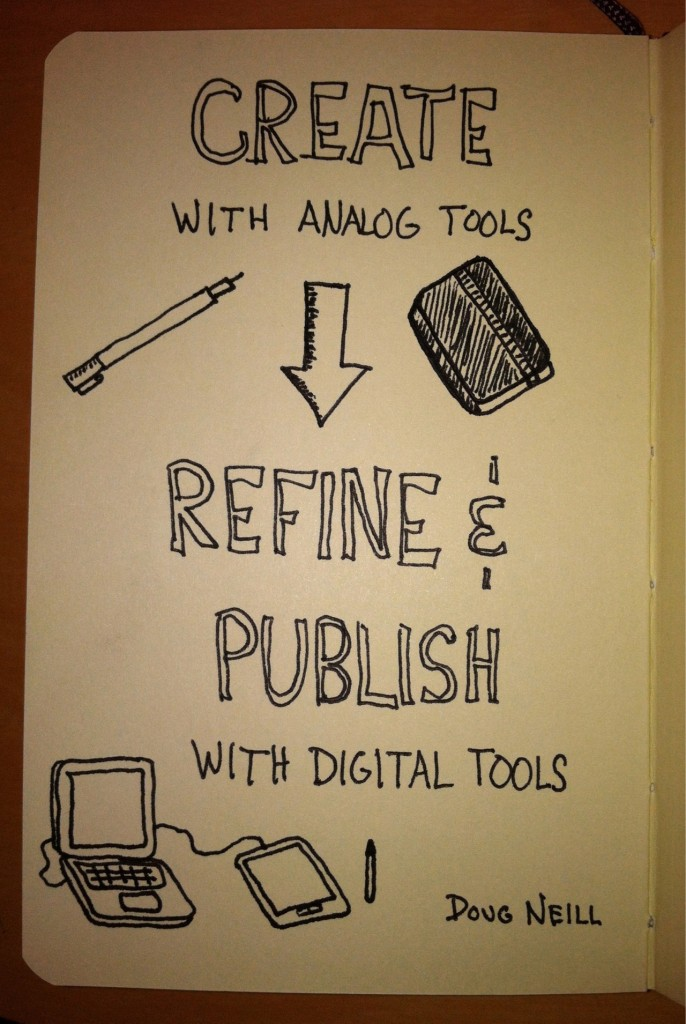 The Graphic Recorder - Doug Neill - Create With Analog Refine and Publish With Digital