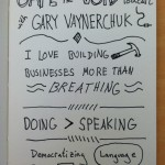Gape Into The Void Podcast Sketchnotes Episode 7 Gary Vaynerchuk (1) - Hugh MacLeod - Jason Korman - Doug Neill - The Graphic Recorder