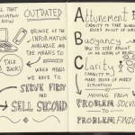 Sketchnotes of Good Life Project Interview - Dan Pink (3) - Jonathan Fields - Doug Neil Sketchnotes - The Graphic Recorder