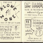 Rework Sketchnotes - Jason Fried, David Heinemeier Hansson - Doug Neill - alone zone, worrying improving, be happy in the shadows, obscurity, cookbook to share with the world