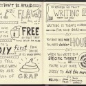 Sketchnotes of Rework by Jason Fried and David Heinemeier Hansson