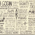 Sketchnotes of On Being Interview With Seth Godin