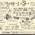 Sketchnotes of Portland's Digital Dialogues: The Brigade and Spotify On Tour
