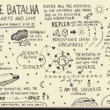 Sketchnotes of On Being Interview with Natalie Batalha