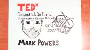 MarkPowersTEDxConcordiaUPortlandDougNeillTimeLapse the graphic recorder sketchnotes