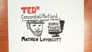 MathewLippincottTEDxConcordiaUPortlandDougNeillTimeLapse the graphic recorder sketchnotes