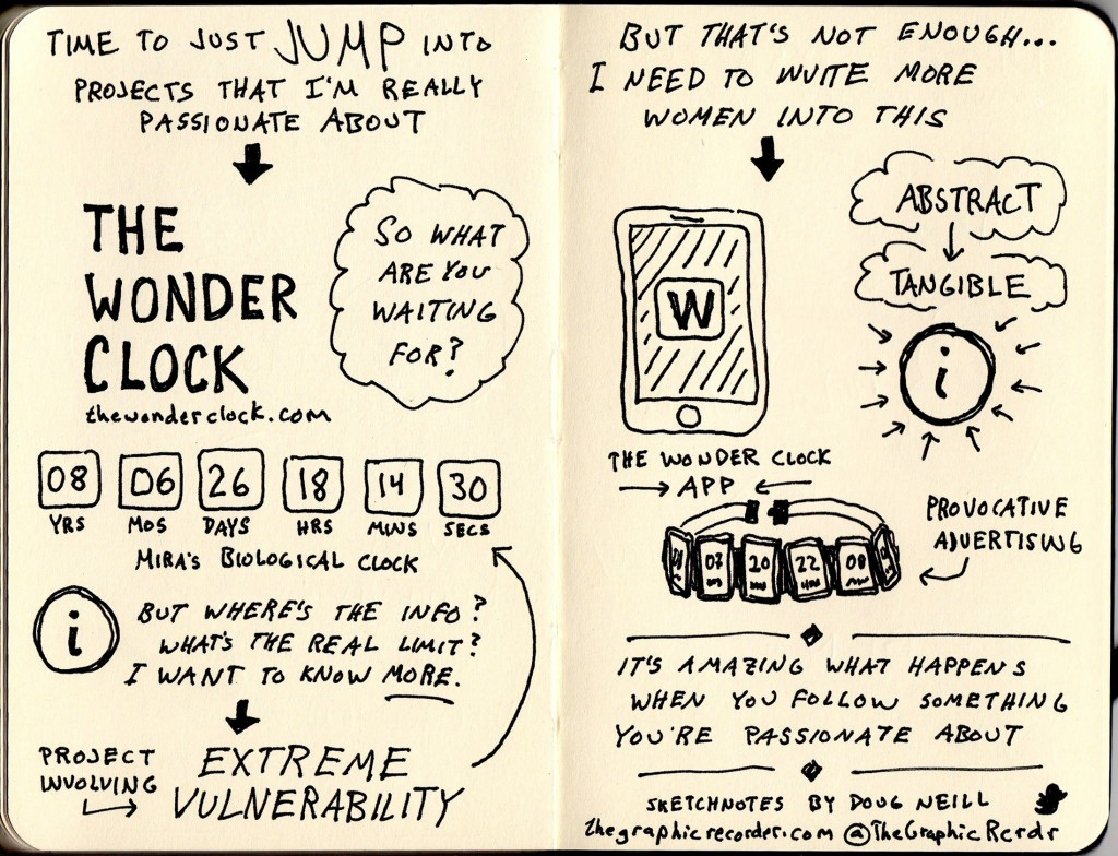 Creative Mornings Mira Kaddou Sketchnotes (2) - Doug Neill