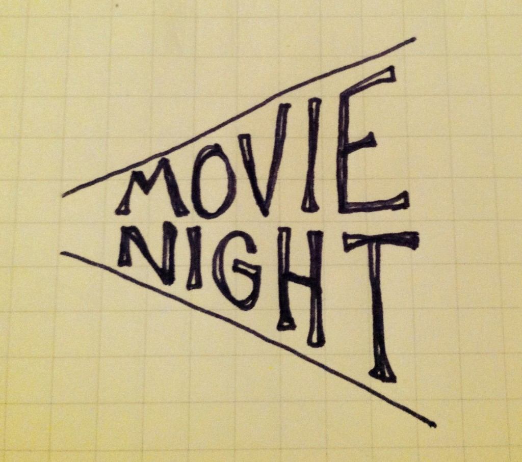 Movie Night Title - The Sketchnote Skill Builder