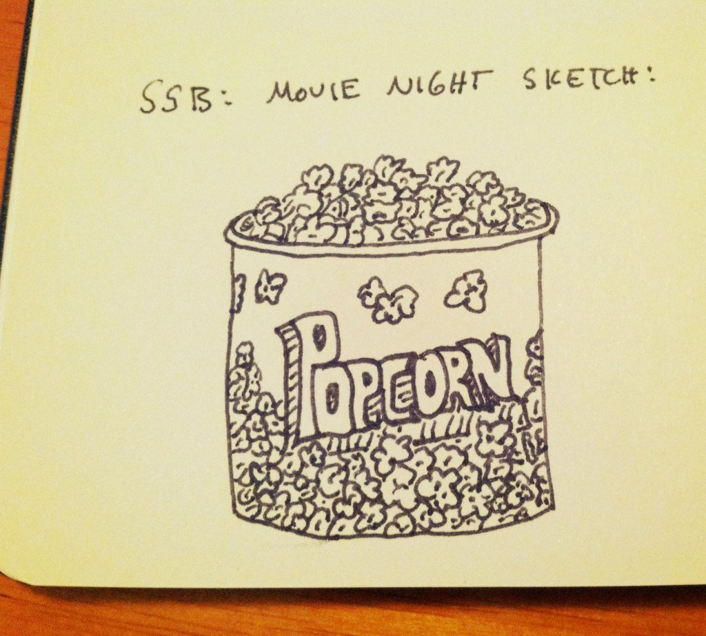 Popcorn Bucket - The Sketchnote Skill Builder