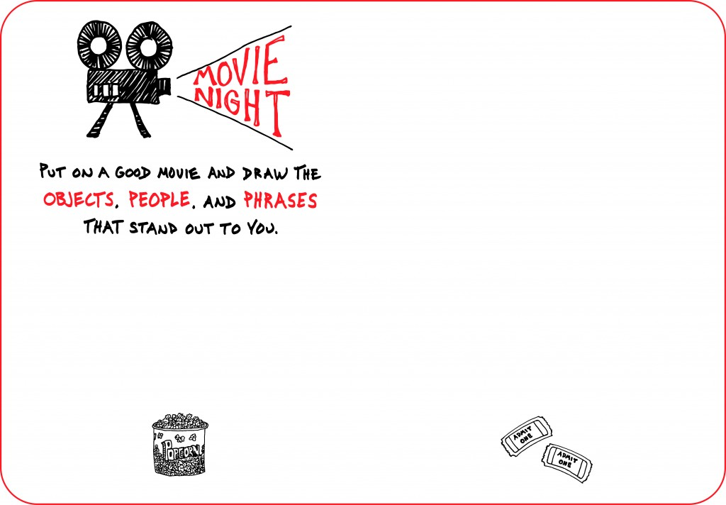 The Sketchnote Skill Builder - Movie Night - Doug Neill