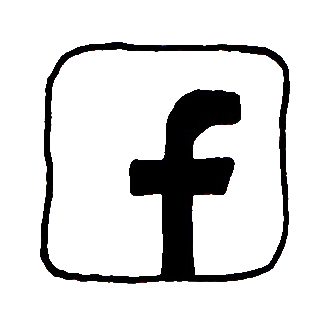 facebook sketched icon