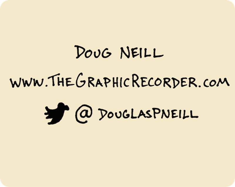 Ten Years of Wandering - My Path Since High School (Doug Neill) 25 - doug neill, the graphic recorder, twitter douglaspneill