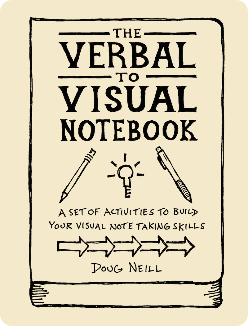 The Verbal To Visual Notebook - the graphic recorder - doug neill