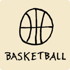 Basketball Visual Vocabulary - sketchnoting visual note taking doodling