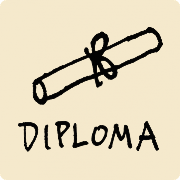 Diploma Visual Vocabulary - sketchnoting visual note taking doodling