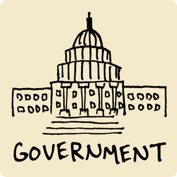 Government Visual Vocabulary - sketchnoting visual note taking doodling